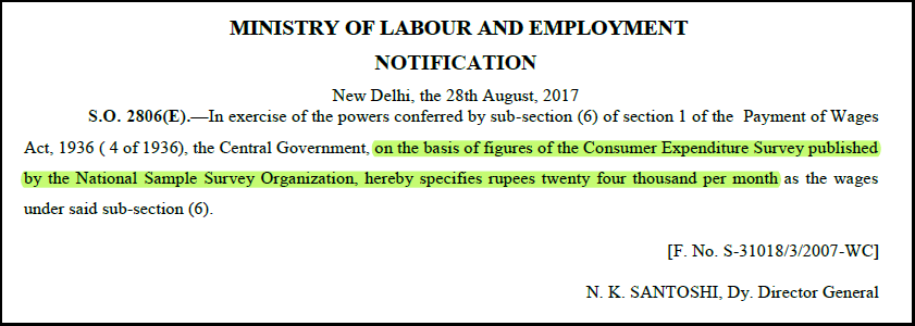 payment of wages act amendment 2017