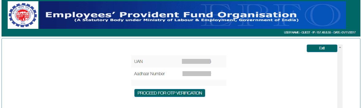 How To Link Aadhar With PF Number Without Login In UAN Portal