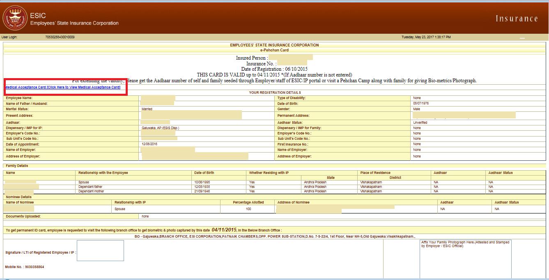 esic form 7b pdf download